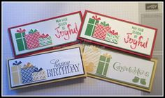 Stampin' in the Sand: Your Presents Gift Card Tutorial