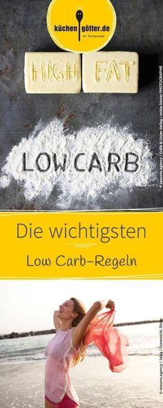 Viel Gemüse, ausreichend trinken und der Verzicht auf Zucker: Hier findet ihr die wichtigsten Regeln für die Low Carb-Diät.