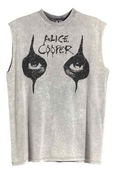 H&M Alice Cooper shirt 2015