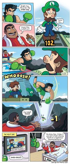 """Little Mac's Final Smash"" #dorkly #geek #supersmashbros"