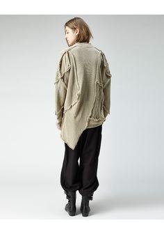 Limi Feu / Oversize Patchwork Cardigan