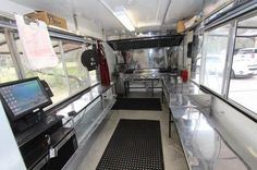 Interior: 2/20/2015 Angleton, Texas - This food truck was built in June of 2013 by Food Trucks Insurance of Pasadena.  Top quality items were chosen from the beginning.