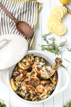 It will look like you spent all day in the kitchen slaving over this beautiful paleo chicken dish but in reality you spent about 10 minutes prepping and the rest is cooking time. Guest post from @wickedspatula