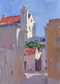 Lena Rivo's Painting Blog: Good Morning - Seixal