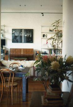 // elizabeths apartment by schorlemädchen, via flickr