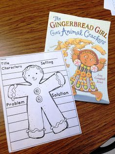 The Gingerbread Girl. Blog shows other ideas working with the Gingerbread Boy story (plus some Maths and Christmas ideas).