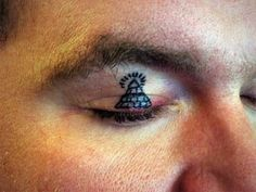 Source: Pin By Erin On Awesome Tattoos And Body Painting Tattoo Fails, Dope Tattoos, Body Art Tattoos, Tatoos, Body Painting, Pyramid Tattoo, Face Tats, Best Tattoo Ever, Tattoo Clothing