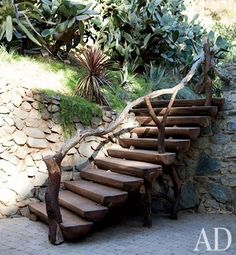 Outdoor Stairs by Bongo