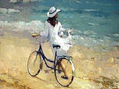 Mar Merino Fernandez. Pintura: Tema Mujer