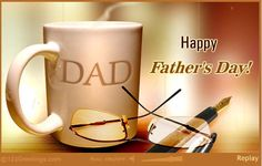 Compliment your dad and appreciate his qualities on Father's Day. Inspiration, Wisdom, Action ecards on Father's Day Happy Fathers Day Greetings, Happy Father Day Quotes, Father's Day Greetings, Good Morning Greetings, Happy Birthday Greetings, Father Birthday Quotes, Fathers Day Ecards, Showing Gratitude, Mother And Father