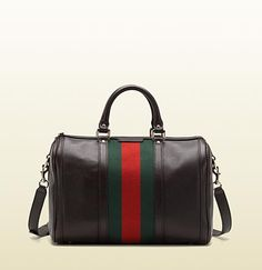 Gucci - vintage web boston bag - I love Gucci and this is such a classic.