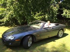 ...supermodel work!!! Fun in unkle Andre's Jag :-)