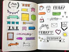 Moving into a New Bullet Journal - chxrlotterose