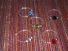 DIY Wine Glass Charms -- via wikiHow.com                                                                                                                                                                                 More