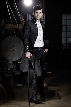 [Mens steampunk fashion] So Miss GK.. U ready 4The Mission?./ Please follow our boards! http://www.bluecigsupply.com/
