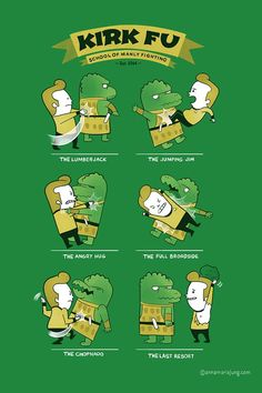 Kirk Fu by Jung Shirts