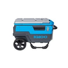 Beverage Cooler Ice Chest On Wheels With Stand Ultratherm Outdoor Cold Brew  Wine #Igloo