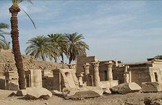 General view of the temple of Ptah at Karnak