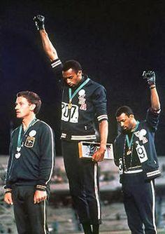 Αθλητισμός και... άλλα: Tα μαύρα γάντια κατά του ρατσισμού