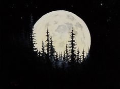 how to paint a moon on a wall - Google Search