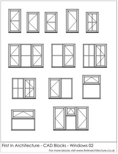Free FIA CAD Blocks Windows 02
