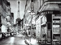 Evening in Paris - 2013 - 77 x 57 cm - Print of this artwork is available.