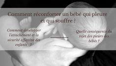 Quand bébé pleure et souffre : comment réagir ?