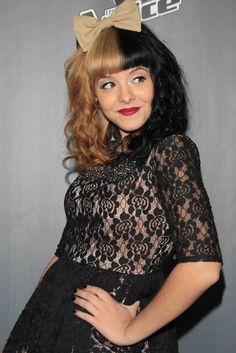 Melanie Martinez, Apparently I look like this chick according to the banker at Regions that went on for about 5 minutes about the Voice.