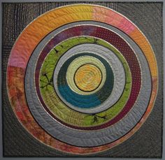 Here are many of my modern / abstract quilts. The most recent are at the top. Quilt Studio, Fiber Art Quilts, Textile Fiber Art, Small Quilts, Mini Quilts, Mandala, Quilt Inspiration, Deco Nature, Circle Quilts