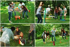 Build your own backyard games