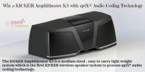 KICKER K3 Wireless Speaker System with aptX® Audio Coding Technology - KICKER