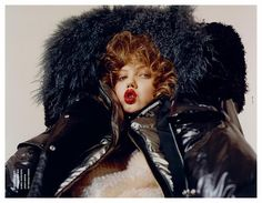 Lindsey Wixson by Harley Weir for i-D, Pre-Fall 2014