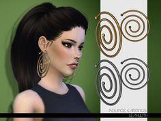 Bounce Earrings  Found in TSR Category 'Sims 4 Female Earrings'