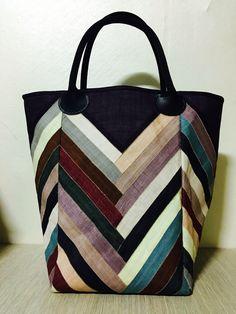 모시 조각 가방