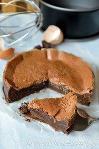 Fondant Baulois - The Universe of Cake Chocolate Parfait, Chocolate Desserts, Chocolate Cake, Mint Chocolate, Chocolate Chips, Bread Recipes, Cookie Recipes, Dessert Recipes, Angel Biscuits