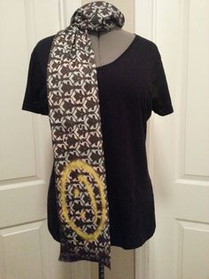 Sherlock wallpaper REGULAR style KNIT scarf  by NerdAlertCreations, $40.00