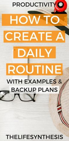 A solid daily routine gives us the motivation to be productive and create a life of success and excitement. It's better to create a daily routine around the life we want, rather than just have a…More Daily Routine For Women, Daily Routine Schedule, Routine Chart, Daily Routines, Daily Schedules, Routine Planner, Morning Routines, Evening Routine, Night Routine