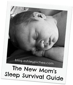 New Mom's Sleep Survival Guide | blog.ashleypichea.com