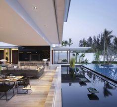Luxury Ultramodern Villa Mit Pool Design Loft House