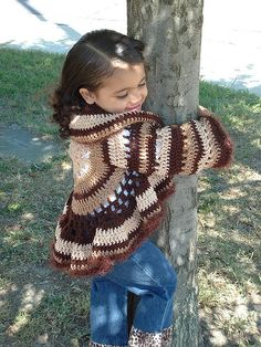 Crochet Sweater Jacket by Chelle Grissam, pattern.