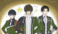 Wise Monkeys, Cute Characters, Touken Ranbu, Anime Guys, Sport, Twitter, Drawings, Style, Swag