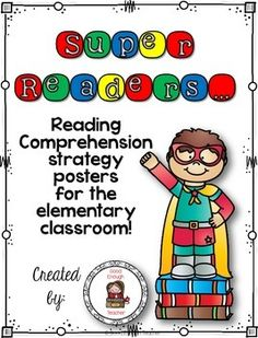 <strong>Super Readers Reading Comprehension Posters</strong>  Thank you so m