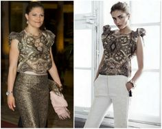 MYROYALS &HOLLYWOOD FASHİON: Crown Princess Victoria in H&M Conscious Collection