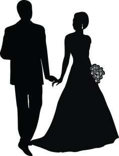 Praying to God to unite us soon! Please hamari ummeed mat todna mere jaan. aap aaoge na? my eyes will be searching for you! I pray God brings us together! Hope to see you jaan! Bride And Groom Silhouette, Couple Silhouette, Wedding Silhouette, Silhouette Clip Art, Silhouette Design, Wedding Drawing, Wedding Art, Wedding Images, Wedding Invitation Posters