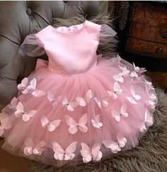1 million+ Stunning Free Images to Use Anywhere Baby Girl Dresses Diy, Baby Girl Frocks, Baby Girl Dress Patterns, Frocks For Girls, Girls Party Dress, Girls Princess Dresses, Baby Girl Pink Dress, Dress Party, Frock Design