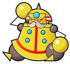 Big Sammer Guy from the official artwork set for #SuperPaperMario on #Wii. #Mario. Visit for more info http://www.superluigibros.com/super-paper-mario