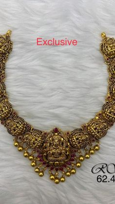 Antique Necklace, Gold Necklace, Cz Jewellery, Gold Belts, Necklace Designs, Jewelry Stores, Wedding Jewelry, Jewelry Collection, Jewels