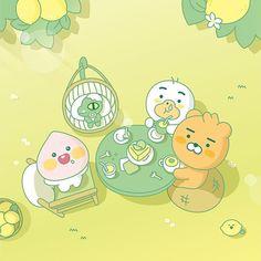 Kakao Friends, Molang, Galaxy Wallpaper, Kawaii Cute, Illustrators, Pikachu, Japanese, Comics, Fictional Characters