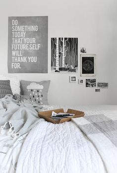 Home Decor – Bedrooms :     white and grey bedroom. posters.    -Read More –   - #Bedroom https://decorobject.com/furniture/bedroom/furniture-bedrooms-white-and-grey-bedroom-posters/