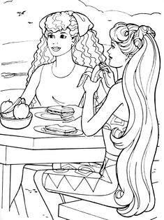Free Kids Coloring Pages, Barbie Coloring Pages, Coloring Book Pages, Coloring Pages For Kids, Coloring Sheets, Doodle Coloring, Sorting, Pattern, Stress